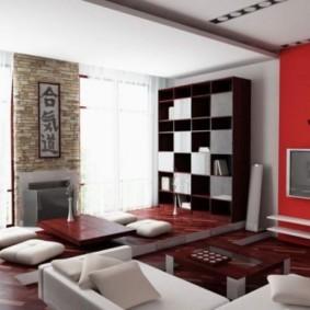 гостиная в восточном стиле фото дизайна