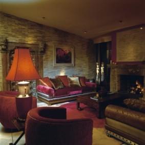гостиная в восточном стиле дизайн идеи