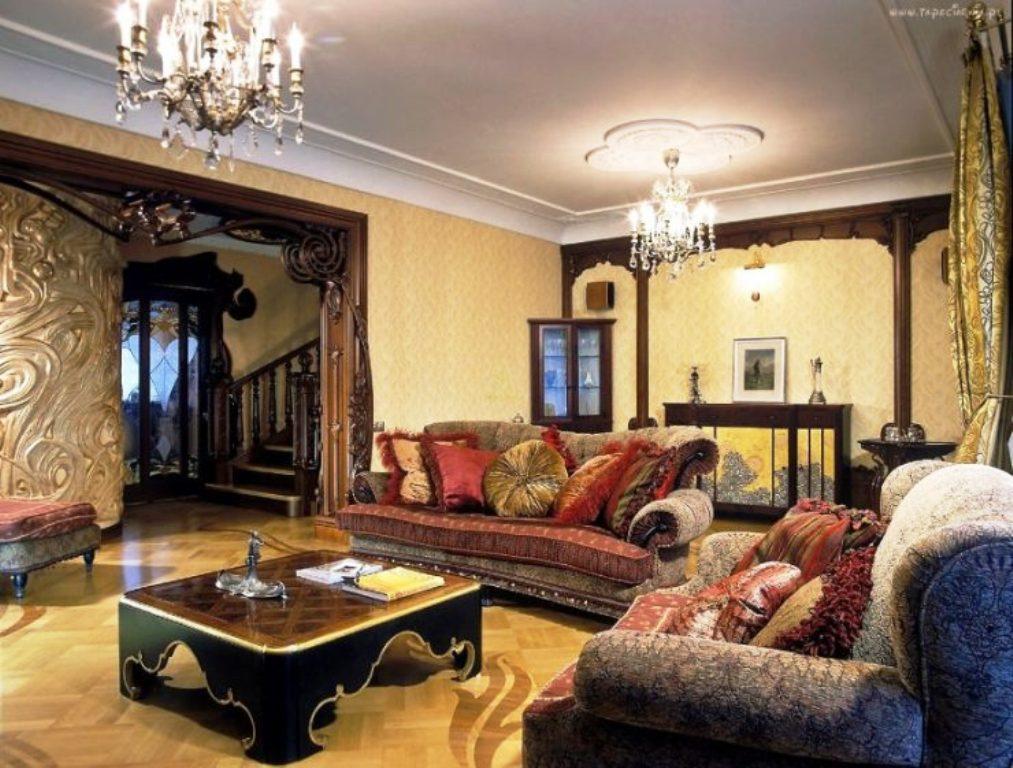 гостиная в турецком стиле