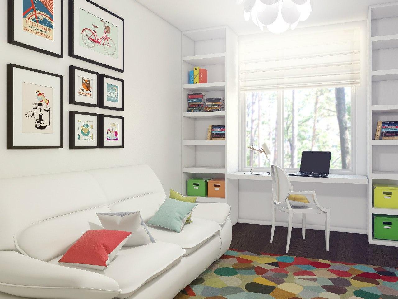 комната для девочки площадью 10 кв м