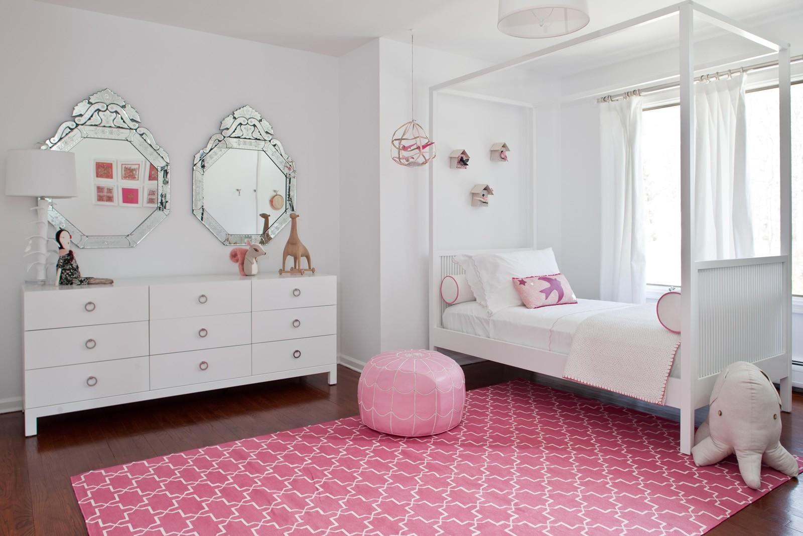 комната для девочки в стиле модерн