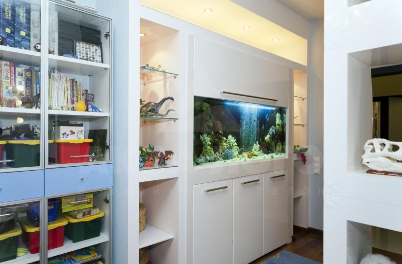 аквариум в детской