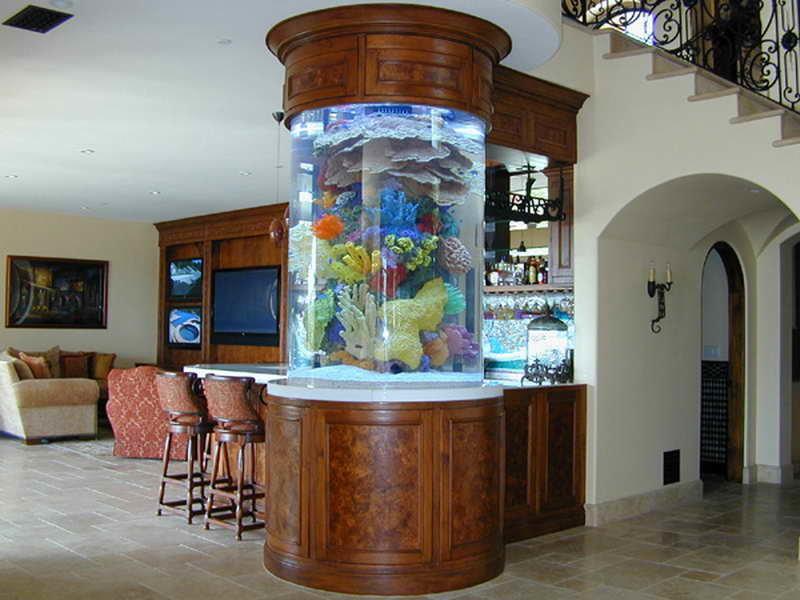 аквариум колонна
