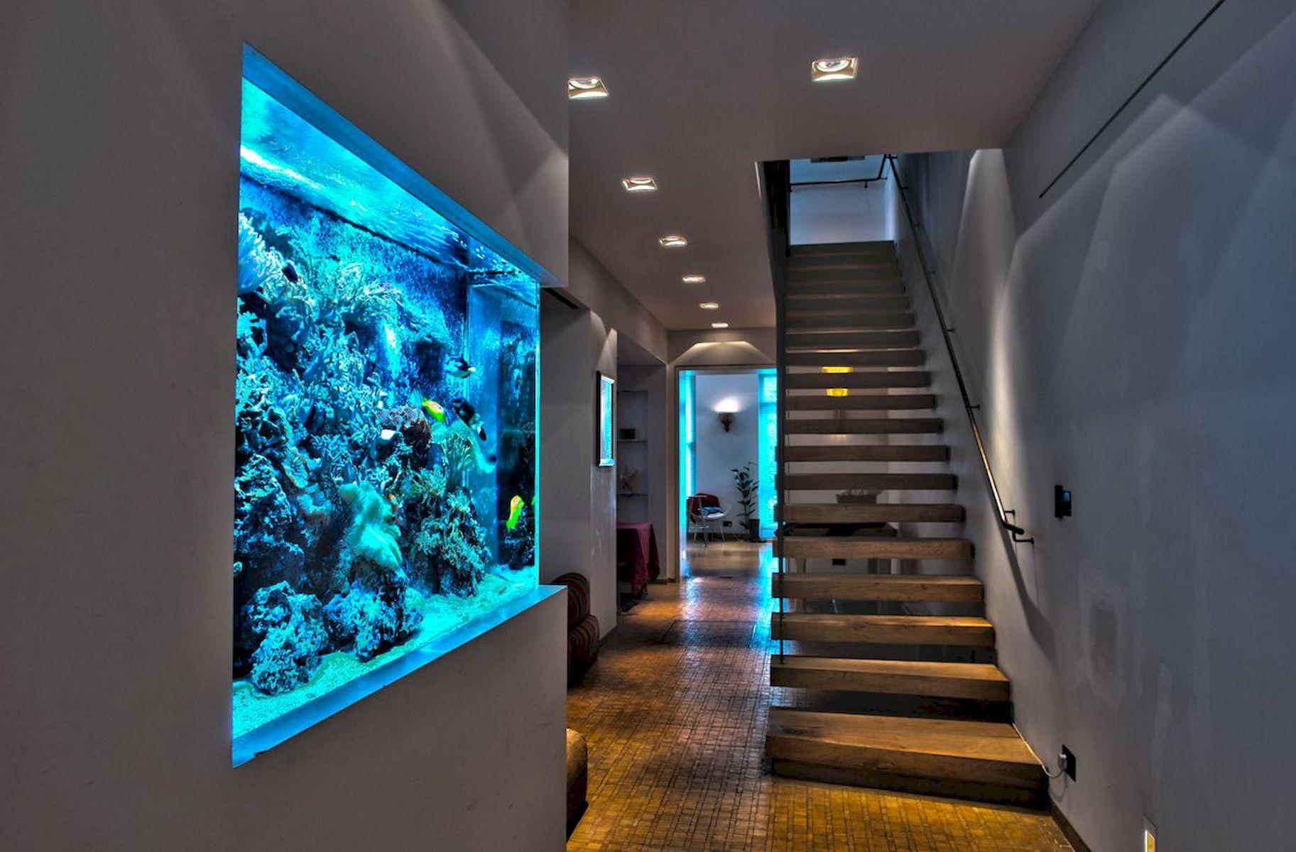 аквариум в частном доме