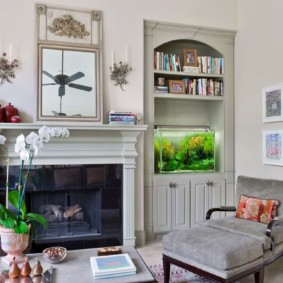аквариум в квартире фото