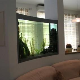 аквариум в квартире идеи дизайн