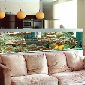 аквариум в квартире идеи дизайна