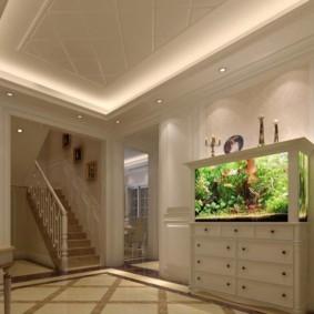 аквариум в квартире фото декор