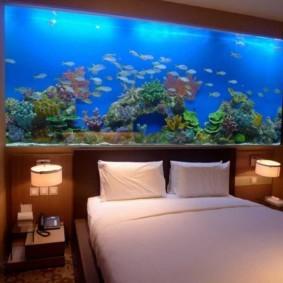 аквариум в квартире фото декора
