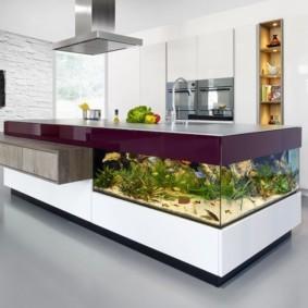 аквариум в квартире идеи декора