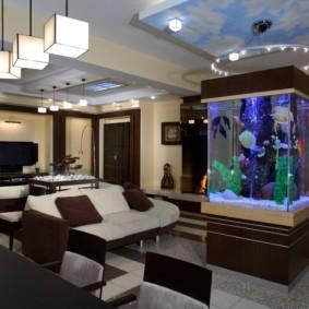 аквариум в квартире идеи