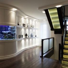 аквариум в квартире интерьер фоо