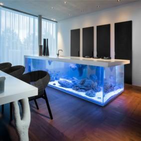 аквариум в квартире интерьер идеи