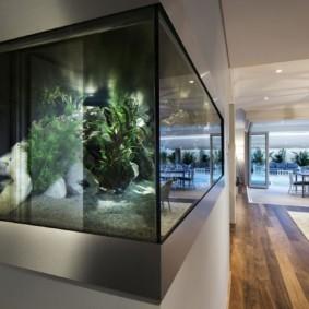 аквариум в квартире оформление