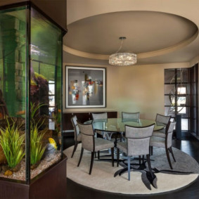 аквариум в квартире оформление фото