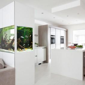 аквариум в квартире фото оформление