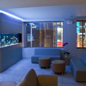 аквариум в квартире оформление идеи