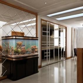 аквариум в квартире идеи оформления