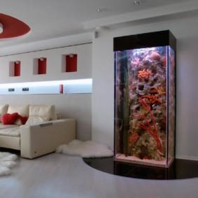 аквариум в квартире фото варианты