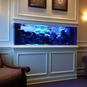 аквариум в квартире варианты идеи