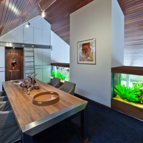 аквариум в квартире идеи варианты