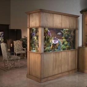 аквариум в квартире фото идеи