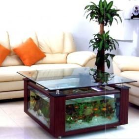 аквариум в квартире виды фото