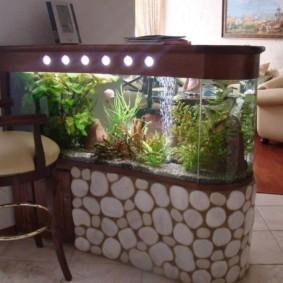 аквариум в квартире фото виды