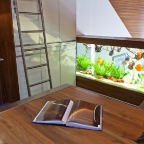аквариум в квартире фото видов