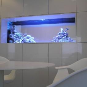 аквариум в квартире дизайн