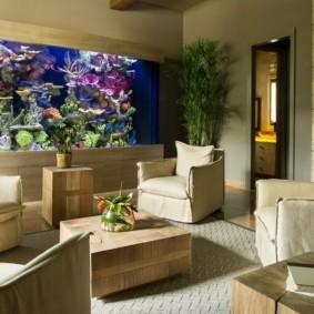 аквариум в квартире фото дизайн