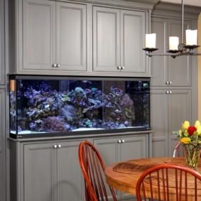 аквариум в квартире фото дизайна