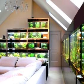 аквариум в квартире дизайн идеи