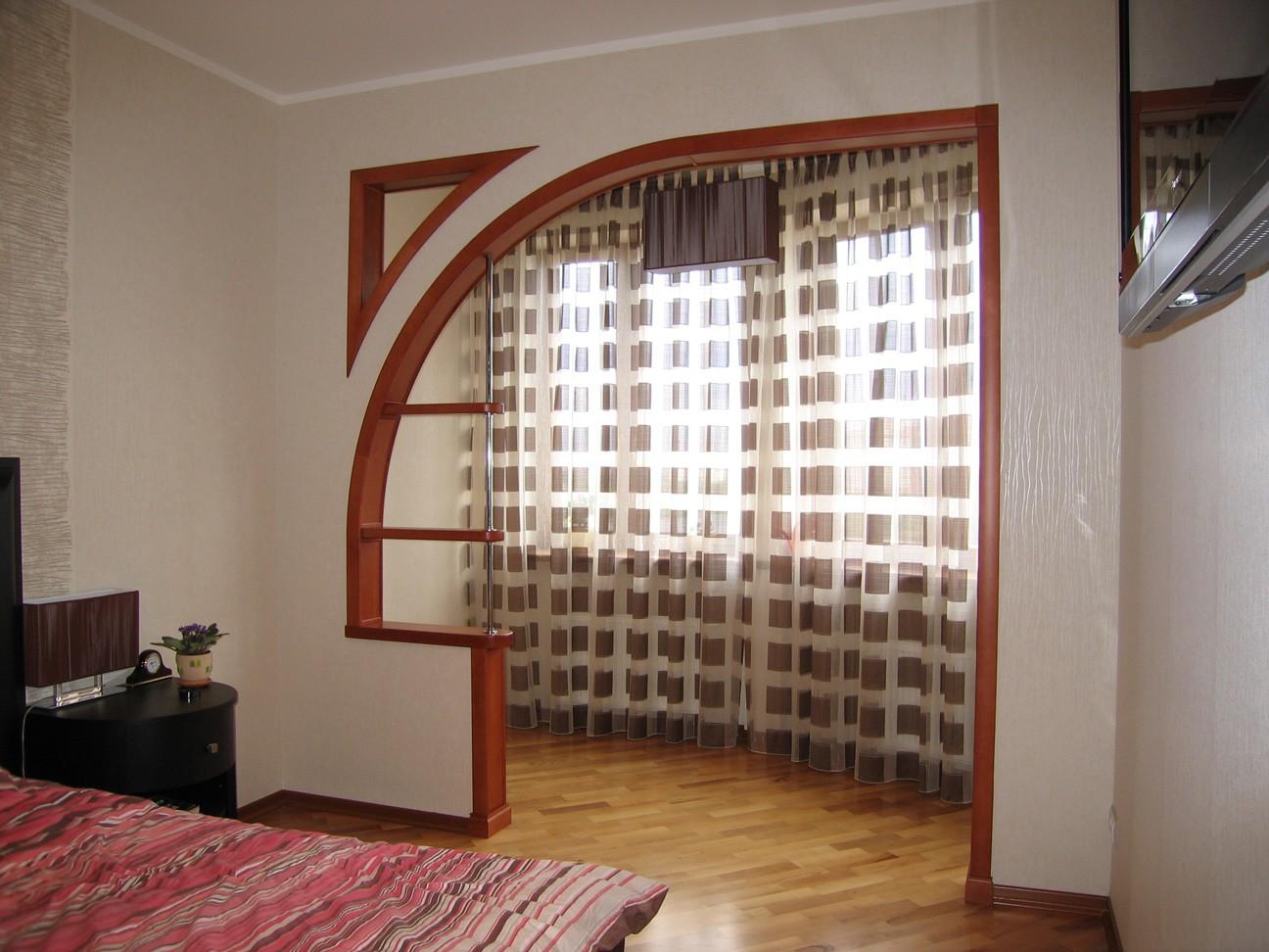 арка в спальне фото