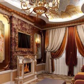 квартира в стиле барокко фото дизайн