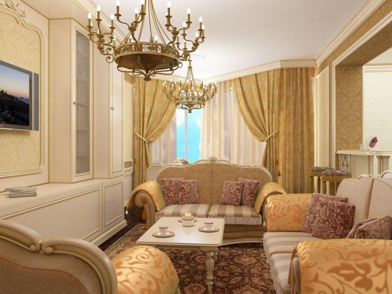 квартира в стиле барокко виды декора