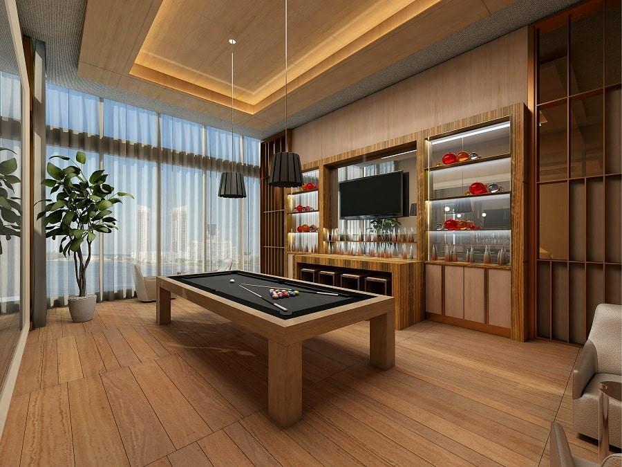 бильярдная комната идеи дизайн