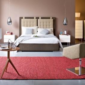бра в спальне над кроватью виды декора