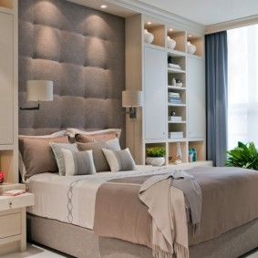 бра в спальне над кроватью фото идеи