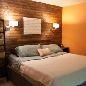 бра в спальне над кроватью идеи вариантов