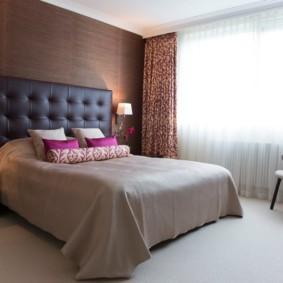 бра в спальне над кроватью декор