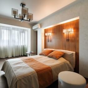 бра в спальне над кроватью фото декора