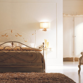 бра в спальне над кроватью идеи декор