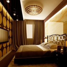 бра в спальне над кроватью виды оформления