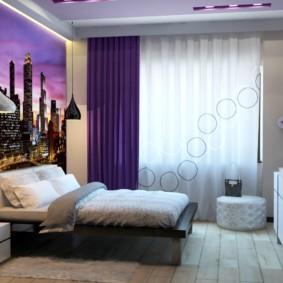 бра в спальне над кроватью интерьер фото