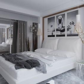бра в спальне над кроватью идеи интерьера