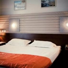 бра в спальне над кроватью варианты фото