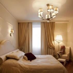 бра в спальне над кроватью варианты идеи