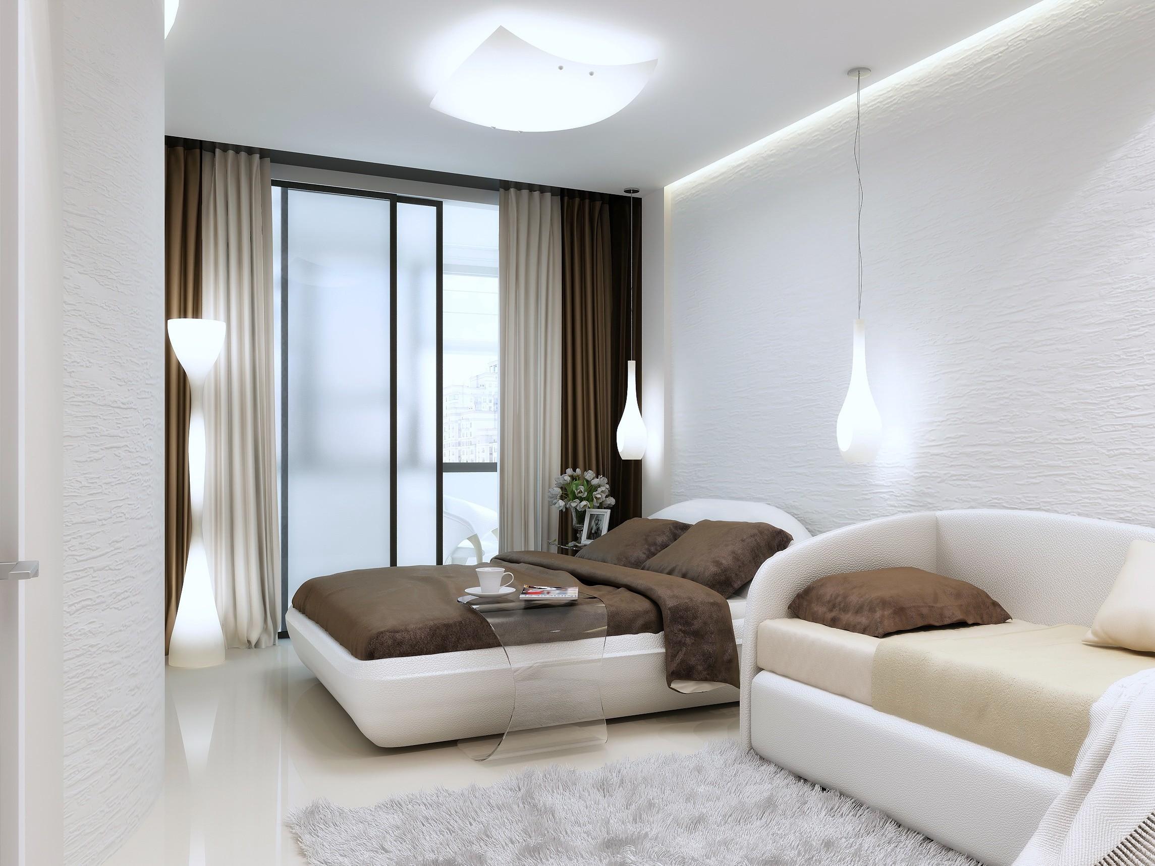 бра в спальне над кроватью дизайн фото
