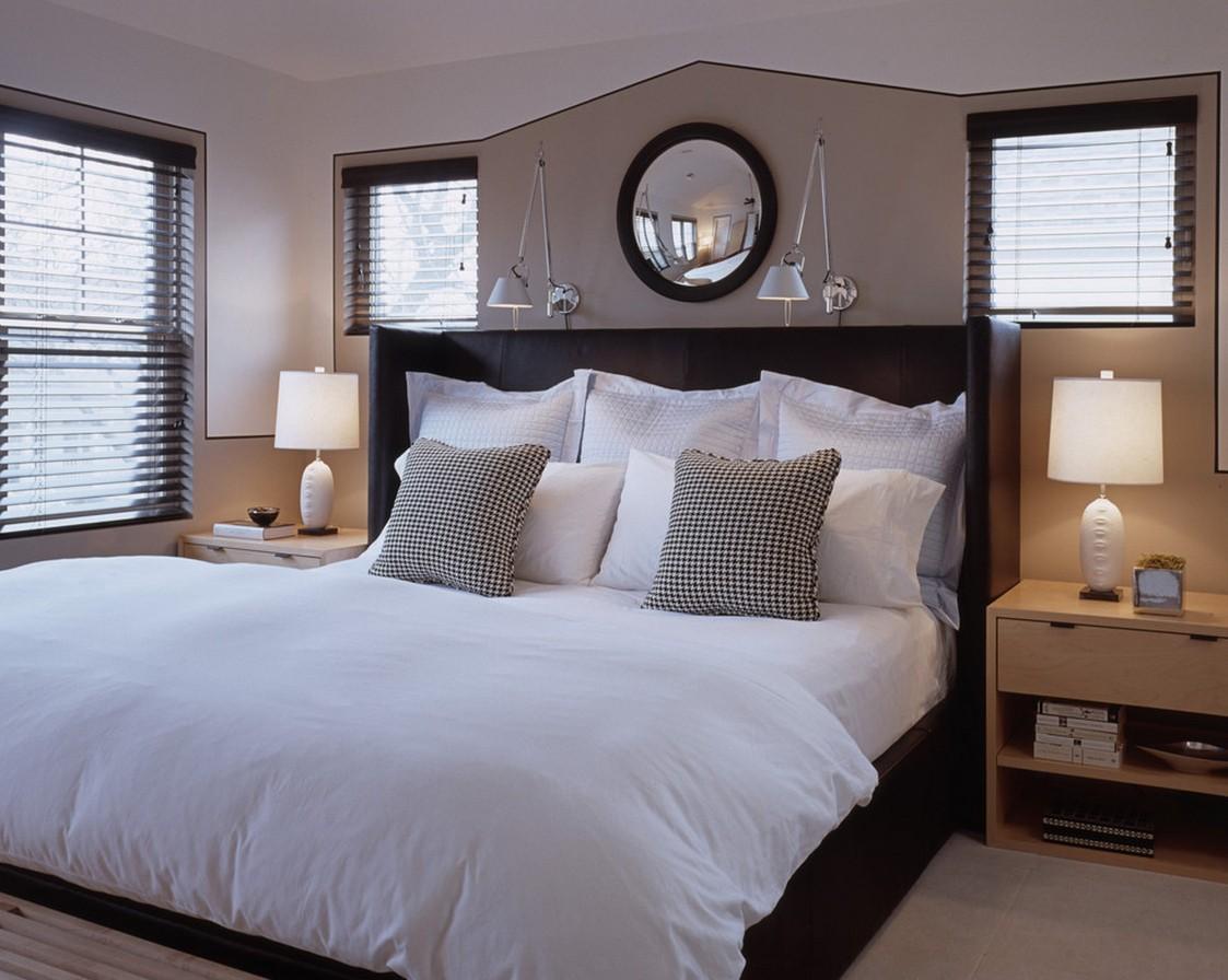 бра в спальне над кроватью идеи
